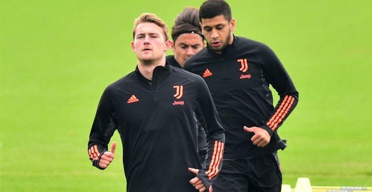 'Juventus kan niet wachten op terugkeer De Ligt: alleen medisch akkoord nodig'