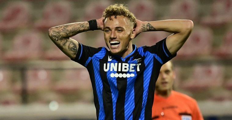 Schuldbewuste Lang krijgt opsteker van Club Brugge-trainer: Werkte goed