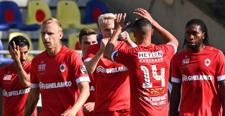 De andere ploegen zijn niet beter, Antwerp heeft 75 procent kans op titel