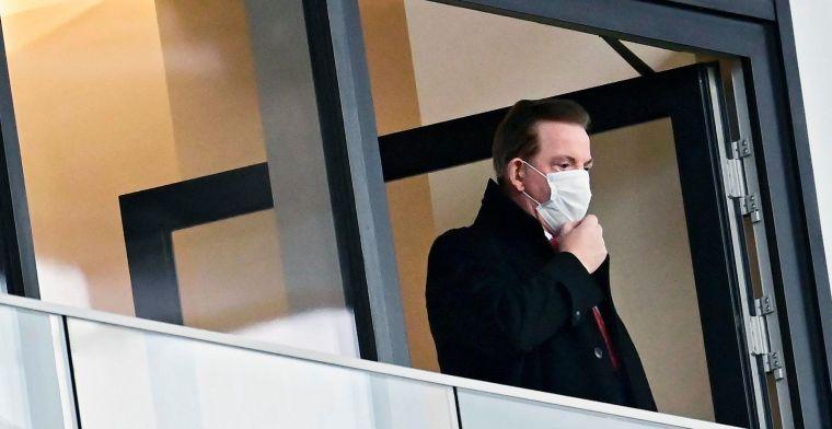 Antwerp-voorzitter haalt uit naar scheidsrechter: Geprobeerd match te verbrodden