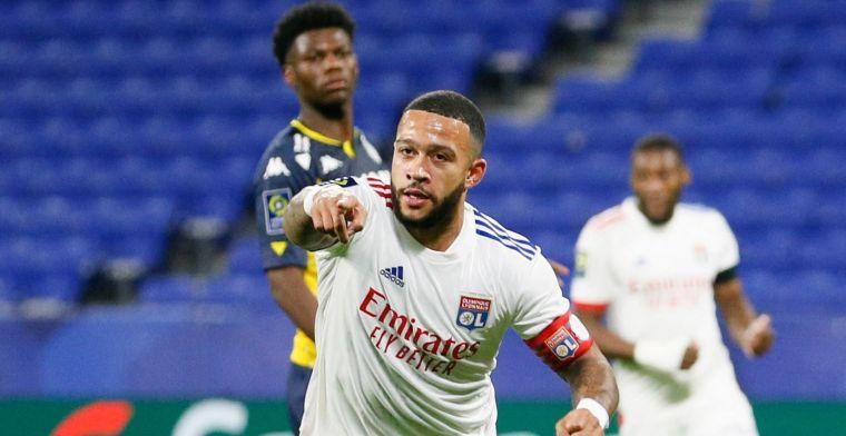 Memphis wederom van grote waarde voor Lyon: 'Hij is een kapitein en leider'