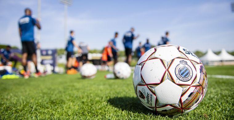 Opmerkelijk: 'Club Brugge traint zonder resultaat coronatests van UEFA'