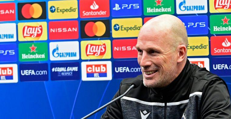 Clement droomt niet van 6 op 6 in Champions League: Blijven realistisch