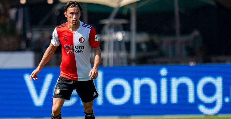 Langverwacht Feyenoord-debuut: 'Advocaat zei: je blijft er de komende tijd bij'