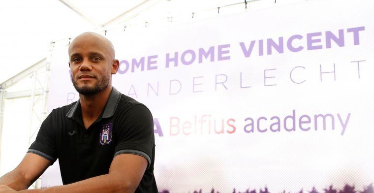 'Kompany en tiental spelers niet op training Anderlecht door maagklachten'