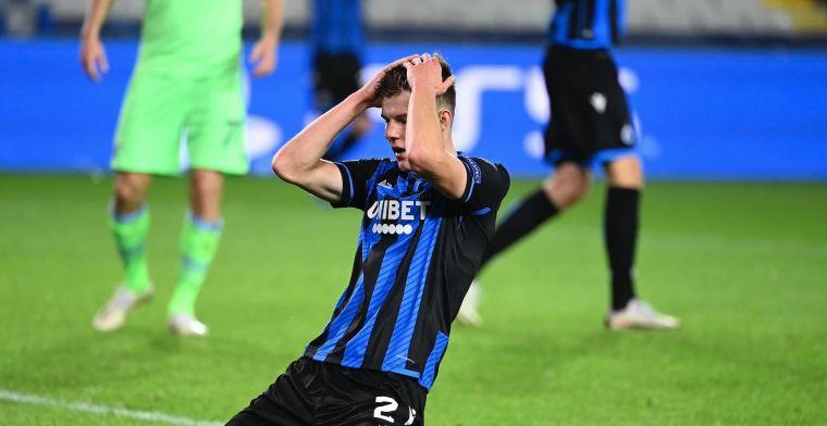 Club Brugge en Lazio delen de punten en blijven samen aan de leiding