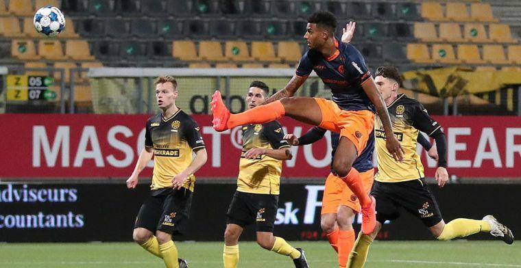Eindelijk een keer goed nieuws voor Fortuna, Cambuur verslaat RKC na penalty's