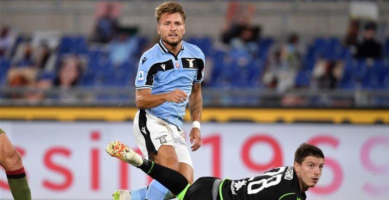 UPDATE: 'Geen Immobile voor Lazio, Andreas Pereira wel tegen Club Brugge'