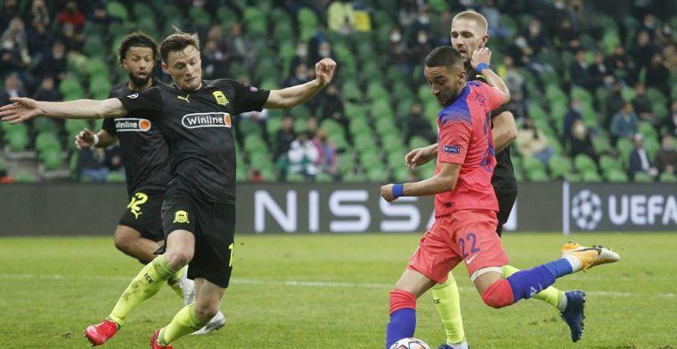 Gullit complimenteert Ziyech na basisdebuut bij Chelsea: 'Geeft hem een boost'