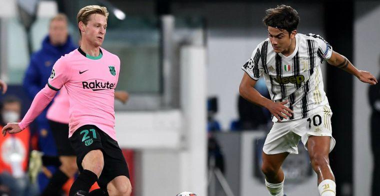 Opvallende rol De Jong na Barça-wissel Koeman: 'Speelde daar in de jeugd ook al'