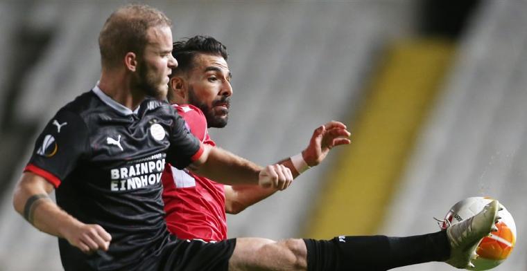 PSV ontsnapt op Cyprus door goal in allerlaatse minuut van Malen