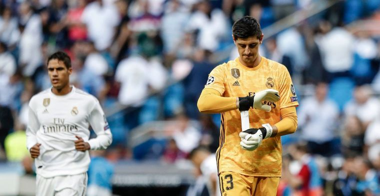 """Real Madrid verdedigend minder: """"Courtois keept in een schietstand"""""""
