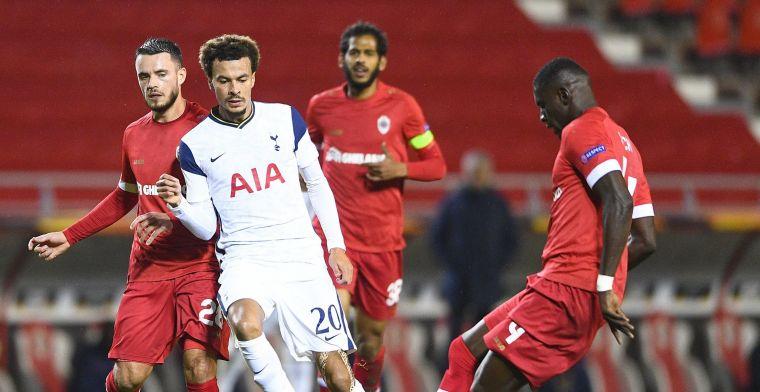 Royal Antwerp verslaat Tottenham met 1-0, verdiende zege voor The Great Old