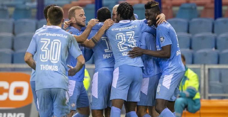 'PSV laat het er niet bij zitten en stuurt formele brief naar UEFA'