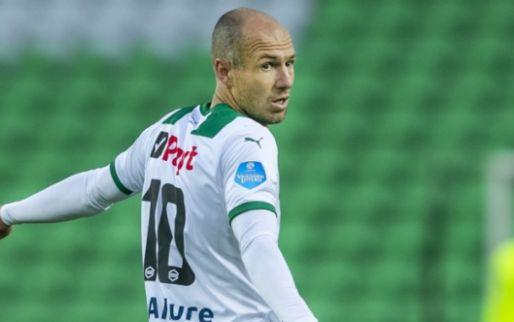 'Ongelooflijk vervelende' situatie Robben: ook tegen VVV geen speelminuten