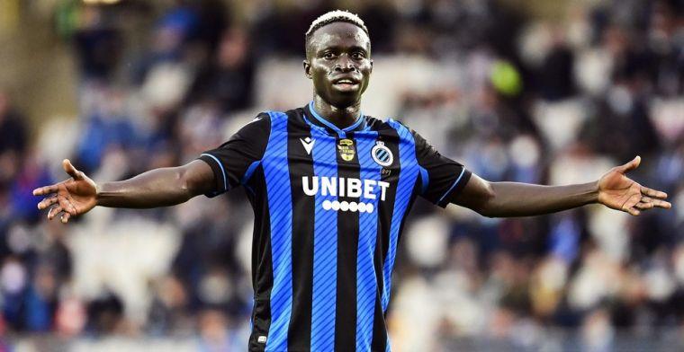 Clement neemt basispion Club Brugge in bescherming: Diatta is nog maar 21