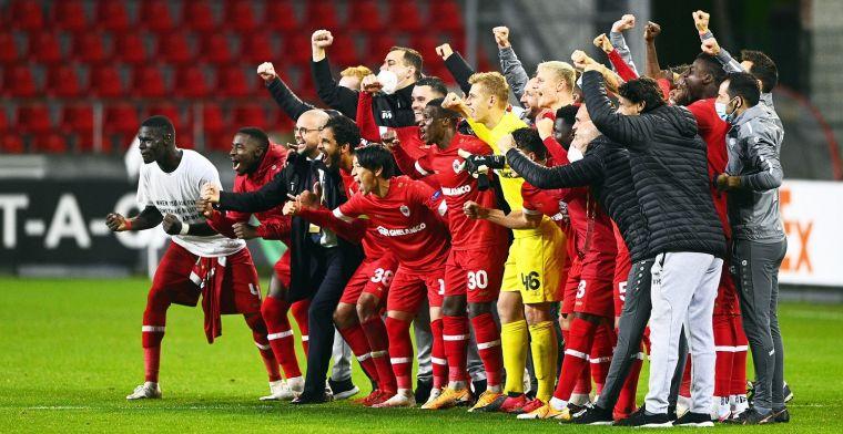 Antwerp schittert in Europa League: 'Grootste concurrent van Club Brugge'