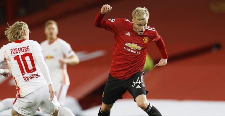 Van de Beek wil meer bij Manchester United: De wedstrijden....