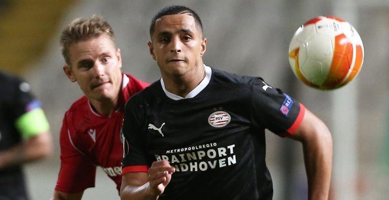 Ihattaren krijgt complimenten bij PSV: 'Fysiek zware belasting voor hem'