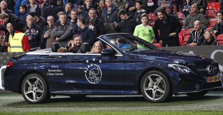 Ajax rondt dubbele 'autodeal' af: We zijn blij met deze verlengingen