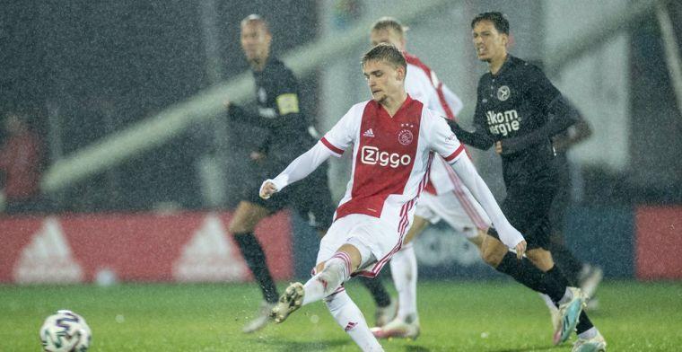 Geen debuut in Ajax 1 ondanks monsterscore: 'Het was de keuze van de trainer'