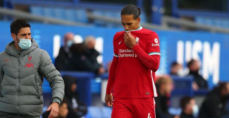 Liverpool komt met update over Van Dijk: succesvolle operatie, 'no timeframe'