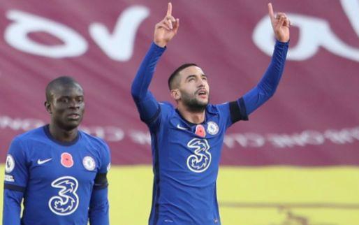 Afbeelding: 'Gedreven' Ziyech bejubeld in Britse media: 'Hij liet de vernieuwde aanval shinen'