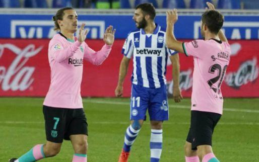 Afbeelding: Koeman en Barça blijven in middenmoot La Liga hangen na gelijkspel tegen Alavés