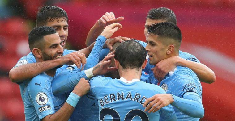 De Bruyne met assist op Walker: moeizame overwinning City op bezoek bij Sheffield