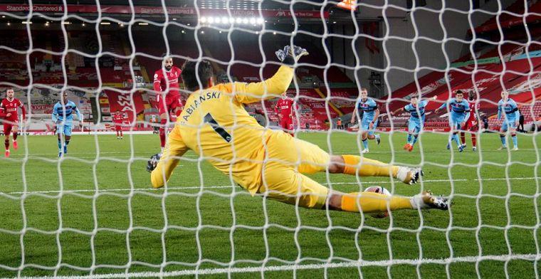 Liverpool is voor even verlost van stadgenoot Everton na zwaarbevochten zege
