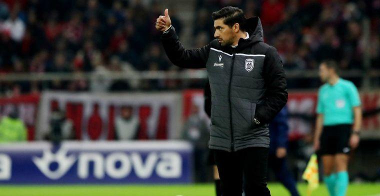 Lastige situatie voor PAOK in aanloop naar PSV: trainer vertrekt per direct