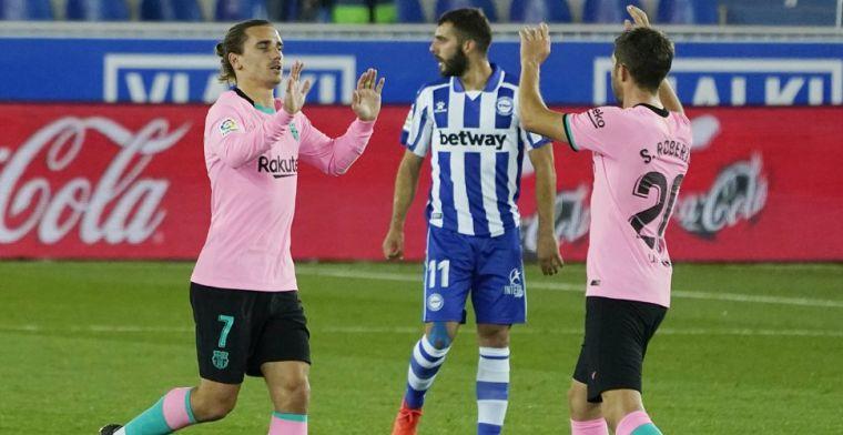 Koeman en Barça blijven in middenmoot La Liga hangen na gelijkspel tegen Alavés