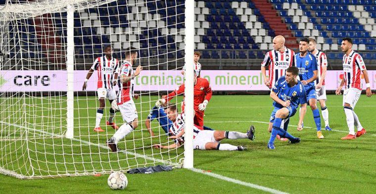 De ene voorzet valt binnen, de andere niet: Vitesse blijft medekoploper