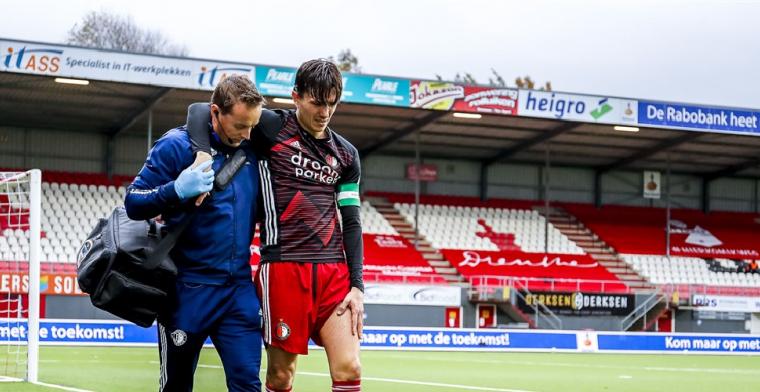 Feyenoord houdt adem in: Dat wordt echt een race tegen de klok