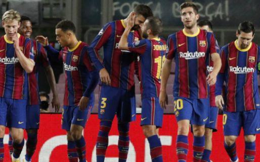 Afbeelding: Barcelona moeizaam voorbij Dinamo Kiev, PSG verliest van RB Leipzig