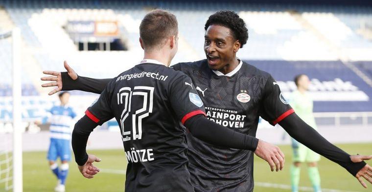 Grote meevaller voor PSV: ergste coronaproblemen lijken voorbij