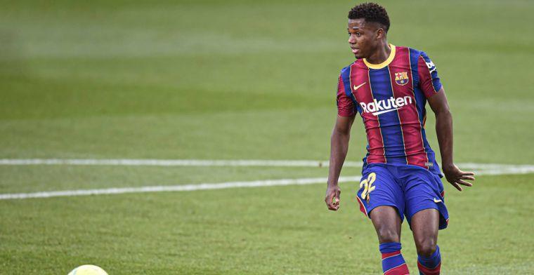 Dramatisch nieuws voor Barcelona: Fati scheurt meniscus tijdens duel met Betis