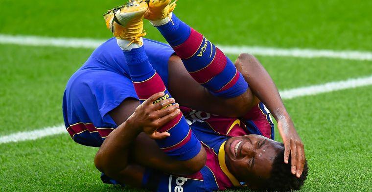 Update: FC Barcelona moet het vier maanden zonder Fati doen