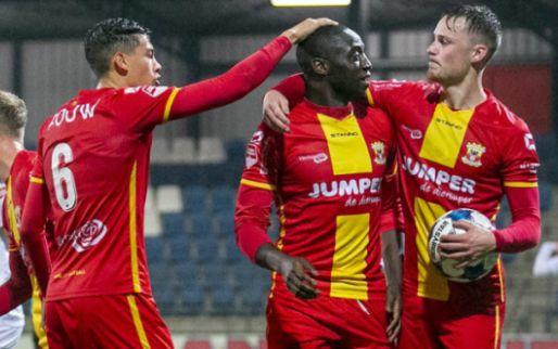 Afbeelding: Mulenga beslist '22.500 kaartjes-duel' in Velsen-Zuid met gouden invalbeurt