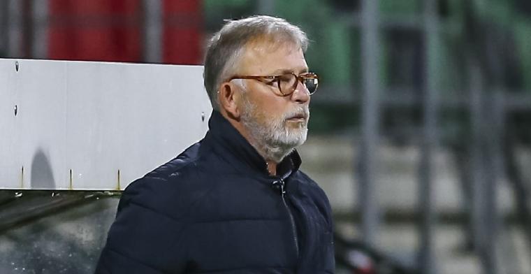 FC Dordrecht ontslaat trainer en clubicoon na harde nederlaag in Eindhoven