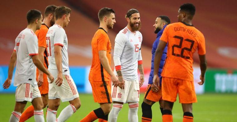 Spaanse pers ziet 'Barça-clash' bij Nederland-Spanje: 'Hij was beter dan Memphis'