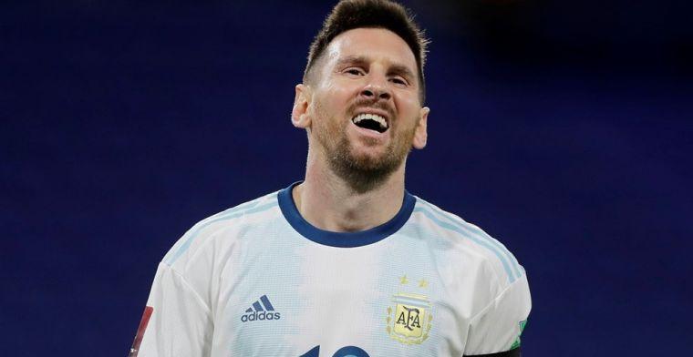Goal van Messi afgekeurd: Argentinië moet tevreden zijn met een gelijkspel