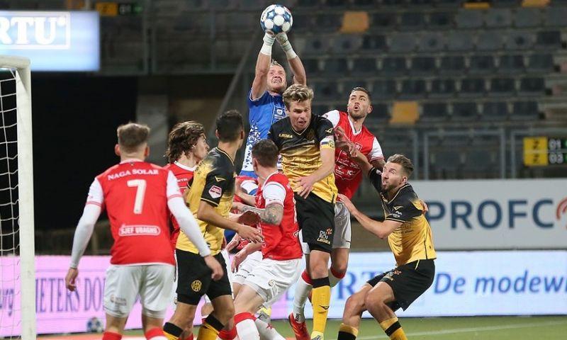Afbeelding: Roda wint bijzonder tamme derby van MVV, Telstar krijgt te weinig in Breda