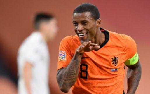Afbeelding: Nederland pakt eerste zege onder De Boer en blijft op koers voor Final Four