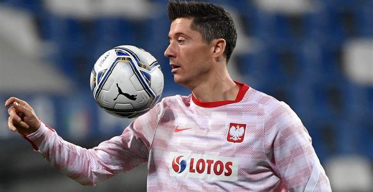 Update: Lewandowski traint mee bij Polen en lijkt fit genoeg voor Oranje-clash
