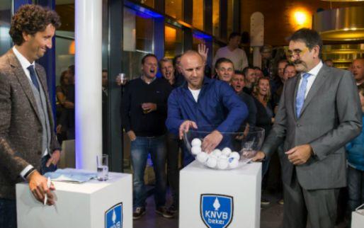Nieuwe opzet KNVB Beker: negen clubs 'vrijgeloot' voor achtste finales