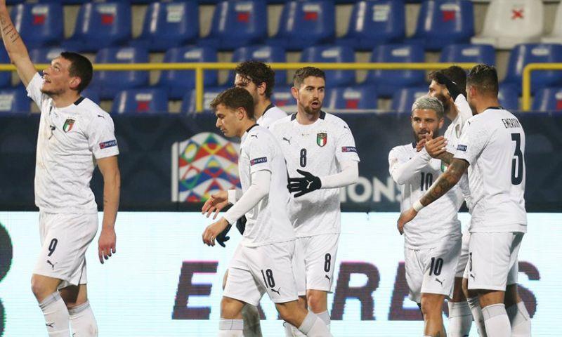 Afbeelding: Superieur Italië houdt Oranje achter zich en gaat met België naar Final Four