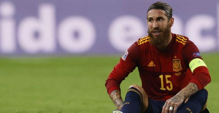 Ramos loopt hamstringblessure op en lijkt Champions League-kraker te gaan missen