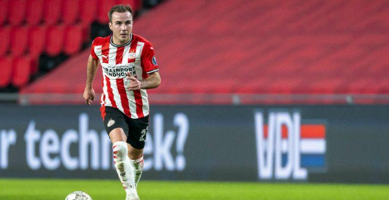 Verbazing bij PSV na transferklapper: 'Is dat die Götze die we kennen?'