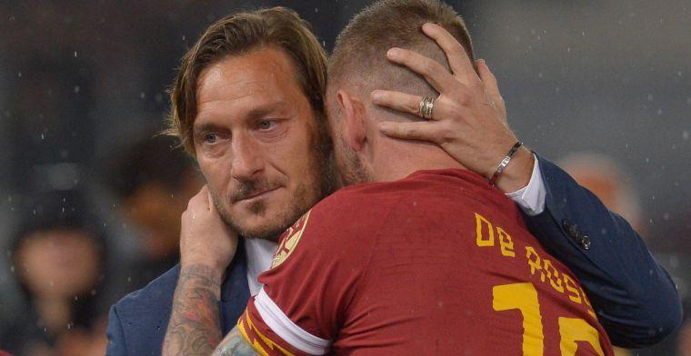 'Concurrentie voor De Jong en Arnesen: clublegende Roma wil terugkeren'